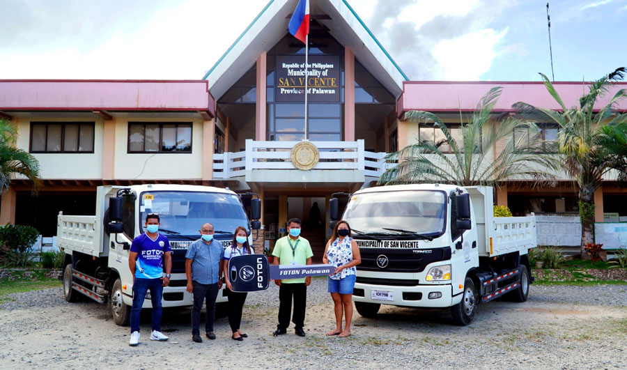 san-vicente-palawan-delivery-and-acceptance-of-2-dump-trucks