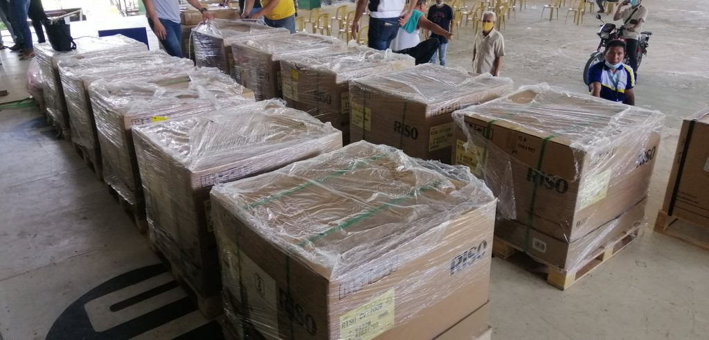 san-vicente-palawan-12-riso-printing-machines-donated-to-dep-ed-san-vicente-district