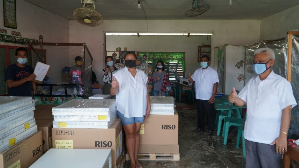 san-vicente-palawan-receives-12-riso-printing-machines