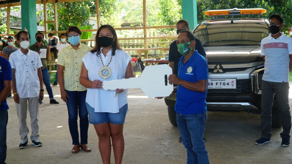 san-vicente-palawan-rescue-vehicle-turn-over-ceremony-at-bgy-sto-nino